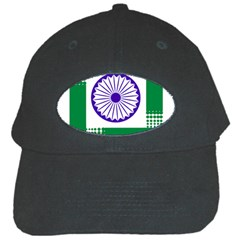 Seal of Indian State of Jharkhand Black Cap