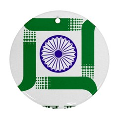 Seal of Indian State of Jharkhand Ornament (Round)