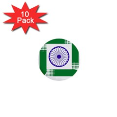 Seal of Indian State of Jharkhand 1  Mini Buttons (10 pack)