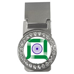 Seal of Indian State of Jharkhand Money Clips (CZ)