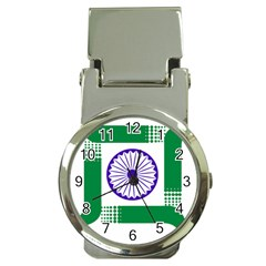 Seal of Indian State of Jharkhand Money Clip Watches