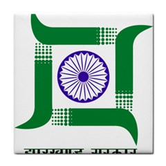 Seal of Indian State of Jharkhand Face Towel
