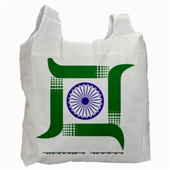 Seal of Indian State of Jharkhand Recycle Bag (One Side)