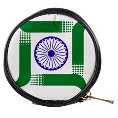 Seal of Indian State of Jharkhand Mini Makeup Bags