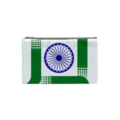 Seal of Indian State of Jharkhand Cosmetic Bag (Small)