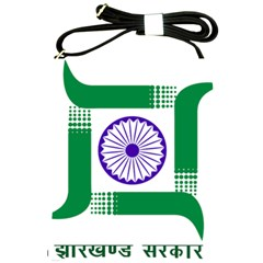 Seal of Indian State of Jharkhand Shoulder Sling Bags
