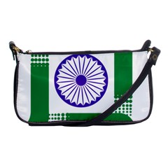 Seal of Indian State of Jharkhand Shoulder Clutch Bags