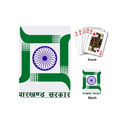 Seal of Indian State of Jharkhand Playing Cards (Mini)
