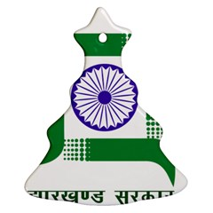 Seal of Indian State of Jharkhand Ornament (Christmas Tree)