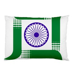 Seal of Indian State of Jharkhand Pillow Case (Two Sides)