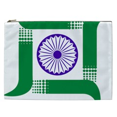 Seal of Indian State of Jharkhand Cosmetic Bag (XXL)