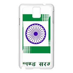 Seal of Indian State of Jharkhand Samsung Galaxy Note 3 N9005 Case (White)