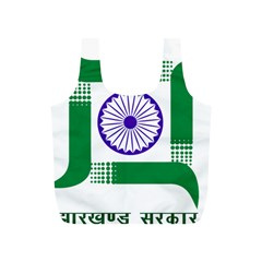 Seal of Indian State of Jharkhand Full Print Recycle Bags (S)