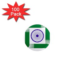 Seal Of Indian State Of Jharkhand 1  Mini Magnets (100 Pack)