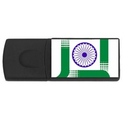 Seal of Indian State of Jharkhand USB Flash Drive Rectangular (2 GB)