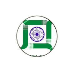 Seal of Indian State of Jharkhand Hat Clip Ball Marker (10 pack)