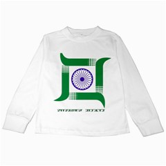 Seal of Indian State of Jharkhand Kids Long Sleeve T-Shirts