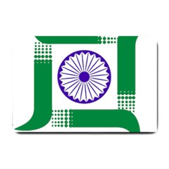 Seal of Indian State of Jharkhand Small Doormat