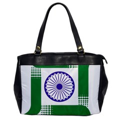 Seal of Indian State of Jharkhand Office Handbags