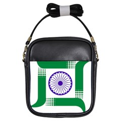 Seal of Indian State of Jharkhand Girls Sling Bags