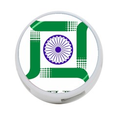 Seal of Indian State of Jharkhand 4-Port USB Hub (Two Sides)