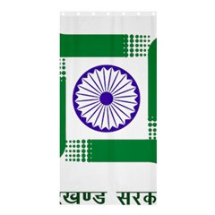 Seal of Indian State of Jharkhand Shower Curtain 36  x 72  (Stall)