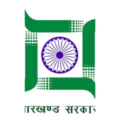 Seal of Indian State of Jharkhand Shower Curtain 48  x 72  (Small)