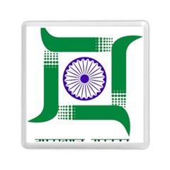 Seal of Indian State of Jharkhand Memory Card Reader (Square)