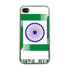 Seal of Indian State of Jharkhand Apple iPhone 4 Case (Clear)