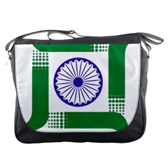 Seal of Indian State of Jharkhand Messenger Bags