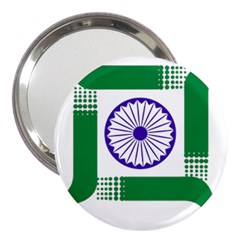 Seal of Indian State of Jharkhand 3  Handbag Mirrors