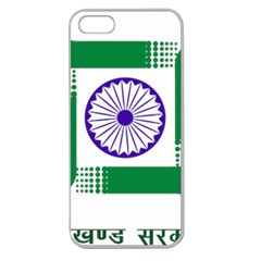 Seal of Indian State of Jharkhand Apple Seamless iPhone 5 Case (Clear)