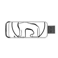 Seal of Indian State of Manipur Portable USB Flash (One Side)