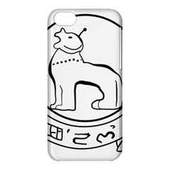 Seal of Indian State of Manipur Apple iPhone 5C Hardshell Case