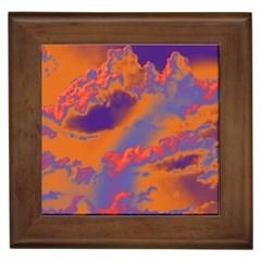 Sky pattern Framed Tiles