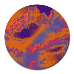 Sky pattern Round Mousepads