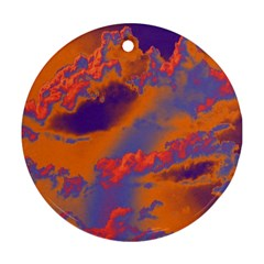 Sky pattern Ornament (Round)
