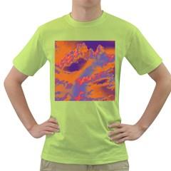 Sky pattern Green T-Shirt