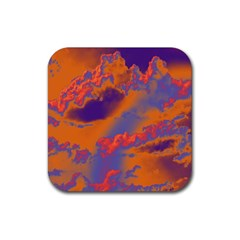 Sky pattern Rubber Coaster (Square)