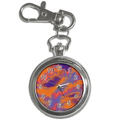 Sky pattern Key Chain Watches