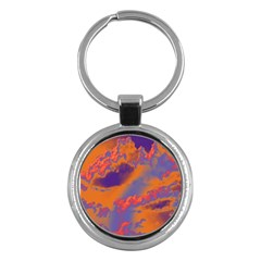 Sky pattern Key Chains (Round)