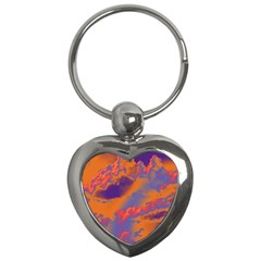 Sky pattern Key Chains (Heart)