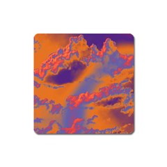 Sky pattern Square Magnet