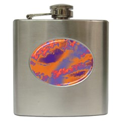 Sky pattern Hip Flask (6 oz)