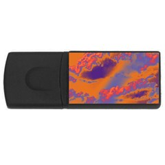 Sky pattern USB Flash Drive Rectangular (2 GB)