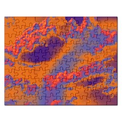 Sky pattern Rectangular Jigsaw Puzzl