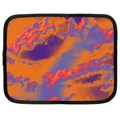 Sky pattern Netbook Case (Large)