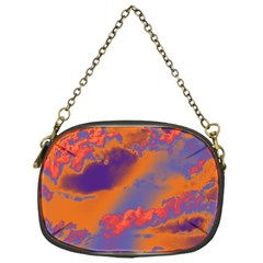 Sky pattern Chain Purses (One Side)