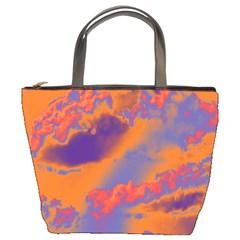 Sky pattern Bucket Bags