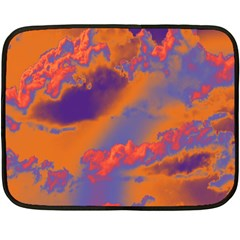 Sky pattern Fleece Blanket (Mini)